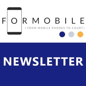 FORMOBILE newsletter