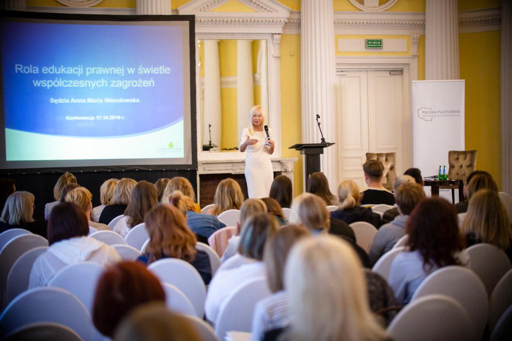 Konferencje PPBW - mediacje rówieśnicze 2019 r.