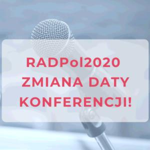 RADPol2020 - zmiana daty konferencji