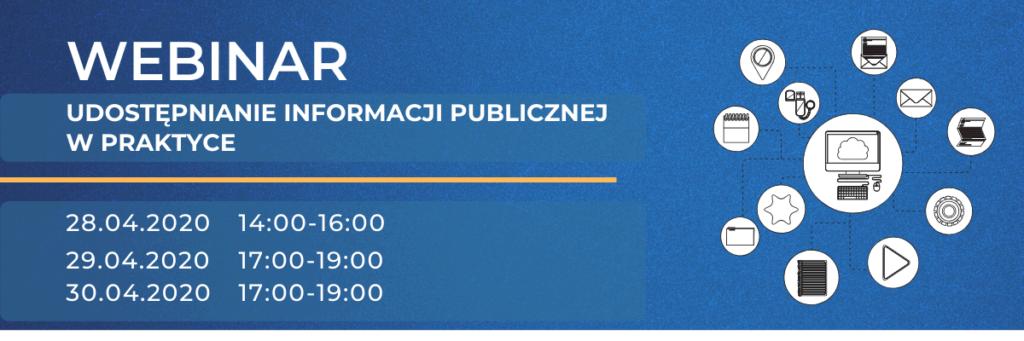 Webinarium PPBW - informacja publiczna
