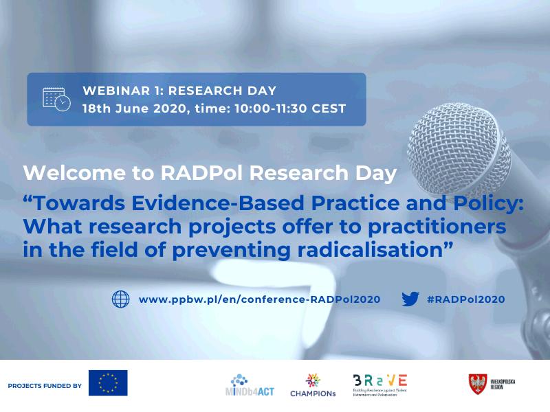 RADPol2020 -Webinar 1 - Event presentation