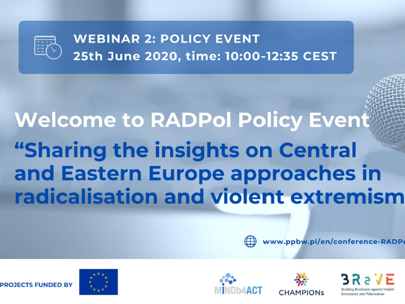 RADPol2020 - Webinar 2 - Event presentation (Panel I)