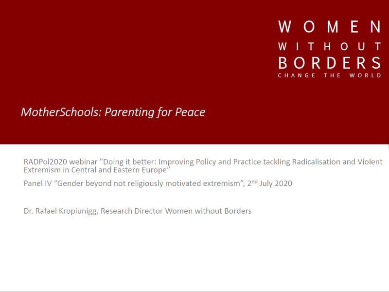 RADPol2020 - Webinar 3 - Women Without Borders - thumbnail