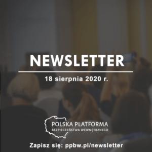 Newsletter PPBW - sierpień 2020 r.