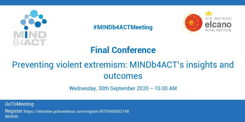 MINDb4ACT Final Conference - banner