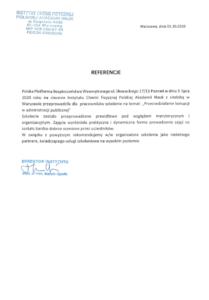 Referencje - Instytut Chemii Fizycznej PAN