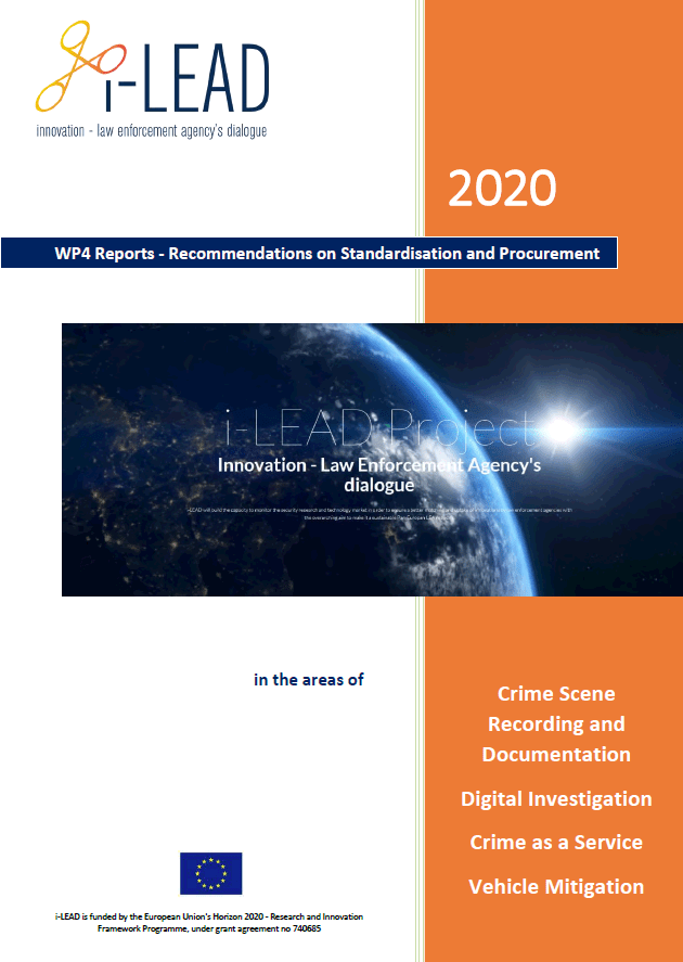 i-LEAD report on standardisation and procurement - thumbnail