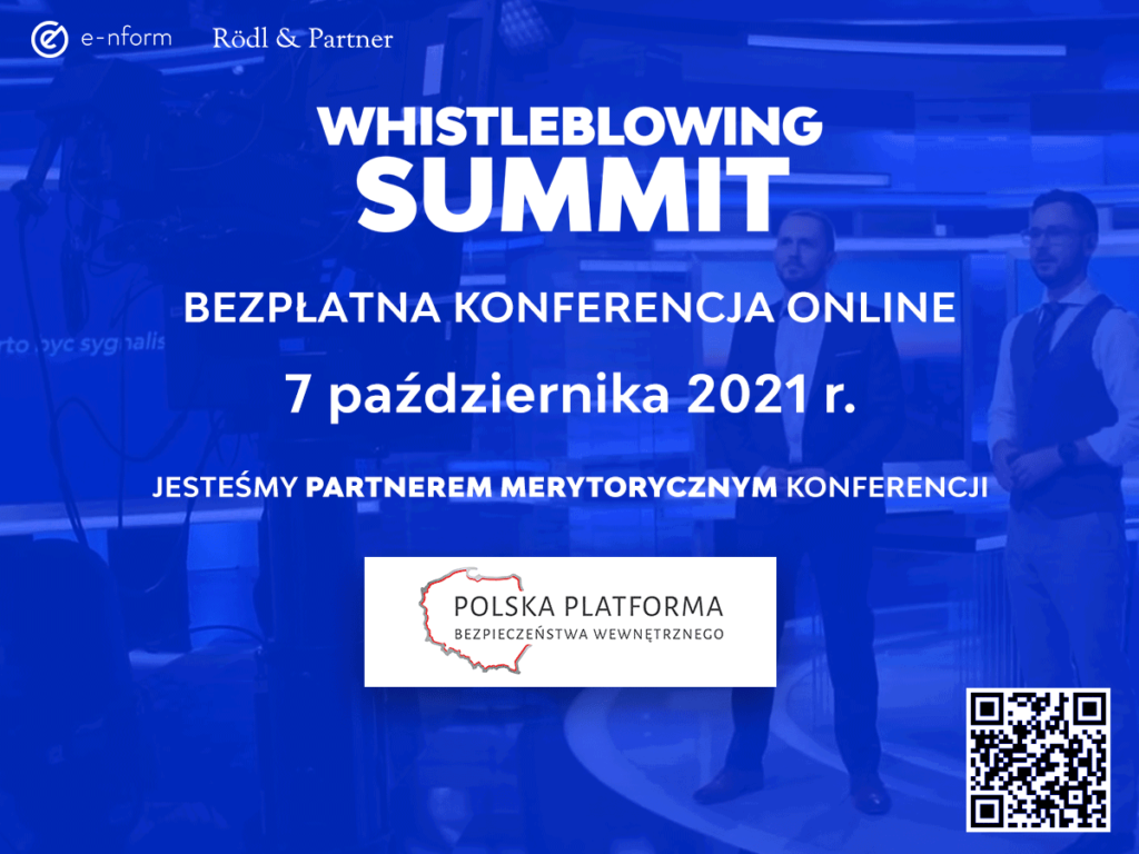 Whistleblowing summit - baner